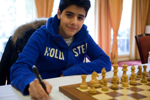 13 year old Aryan Tari scores his first GM norm
